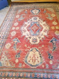 7'x10' Pakistani hand knotted  KAZAK 100% wool. Falls Church, 22042