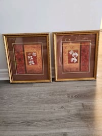 2 framed pictures in excellent condition