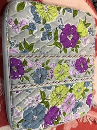 Vera Bradley laptop case with cd storage