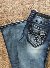 Brand new Rock Revival jeans- womans. tags attached- Size 28. Midrise flare Spokane Valley, 99016