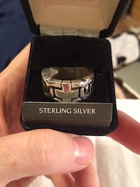 New mans sterling silver ring Gaithersburg, 20878