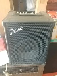 black and gray Fender guitar amplifier New Bedford, 02740
