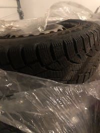Winter tires on rims for Mercedes B200 Richmond Hill