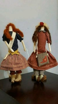 Folk dolls. Falls Church