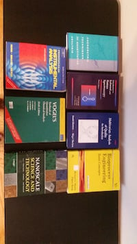 Science and engineering text books University City