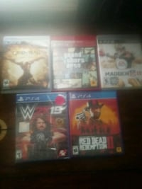 Ps4 and ps3 games  Stephens City, 22655