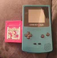 Rare Game Boy Color with game cartridge Washington, 20024