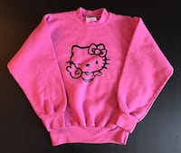 HELLO KITTY PINK SWEATER FOR YOUTH Montréal, H8R 3B5