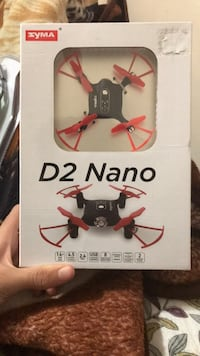 Red and black quadcopter drone BRAND NEW!!