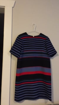 Black, red, and gray striped sweater Surrey, V3X