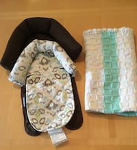 Baby Head Rest & Blanket in New Condition Montréal, H4M