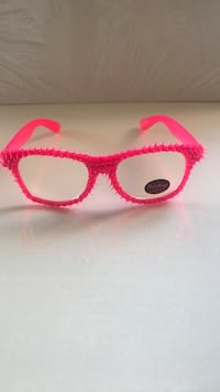 Funky party glasses. Silicon/ neon pink Burnaby, V5H 1Z9