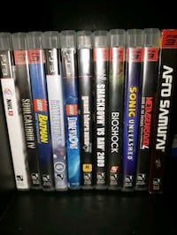 PS3 Games  Mississauga, L5N