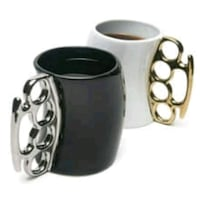 black and white ceramic mug Moreno Valley, 92553