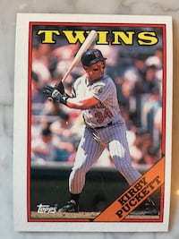 Twins Kirby Pucket trading card