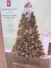 Christmas tree 7.5 ft Whitchurch-Stouffville, L4A 1G2