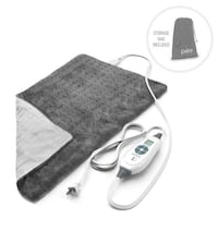 "More Personal Care Pure Enrichment Purerelief Heating Pad - Charcoal Gray - 12"" x 24""  Bakersfield, 93306"
