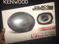 400w kenwood 6x9's still in box never used  Norfolk, 23504