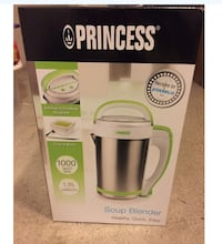 prinsesse suppe blender boks Oslo, 0680