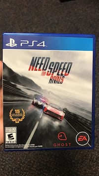 Need for Speed Rivals PS4 game case Yorktown, 23690