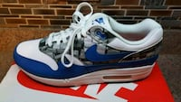"Nike Air Max 1 ""Nike box leather print"" sz.11.5 Wenonah, 08090"
