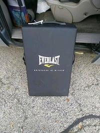 black Everlast heavy bag with stand Glendale Heights, 60139