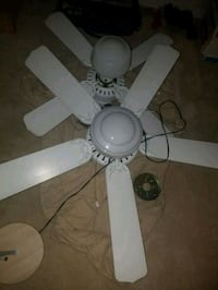 white 5-blade ceiling fan Falls Church, 22046