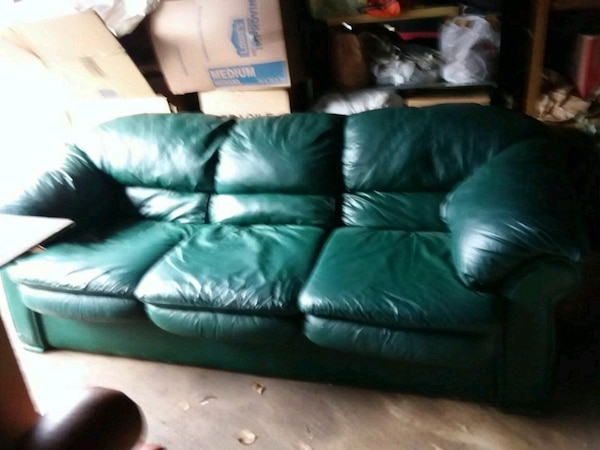 Prime Labor Day Sale Reduced Dark Green Leather Sofa Pdpeps Interior Chair Design Pdpepsorg