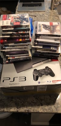 PS3 with 20 games Reston, 20190