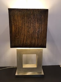 Unique Rustic Modern (Modern Transitional) Table Lamp