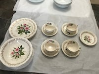 23 pieces England Johnson Brosdishes and cups