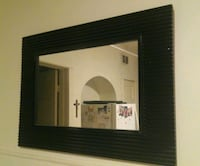 Large black wall mirror home decor Chicago, 60618