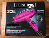 Infinitipro By Conair 1875W Mid Size Ceramic Ionic Brushless Motor 3Q Dryer Vaughan, L4H 0T6