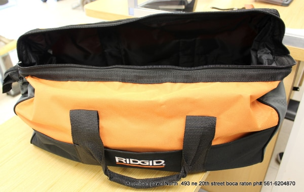 0305f851bafe Used NEW RIDGID HEAVY DUTY LARGE (23X14X10) TOOL BAG for sale in Boca Raton