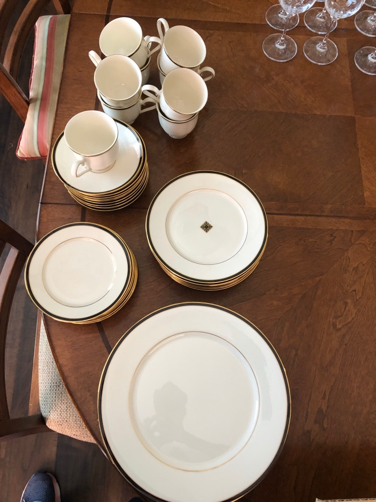 Photo Lenox Urban Lights Fine China 9 Placesettings