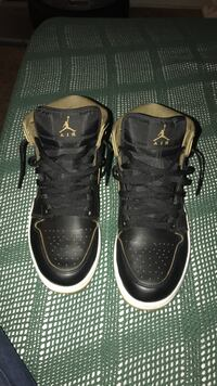 pair of black Air Jordan basketball shoes Spring Valley, 91977