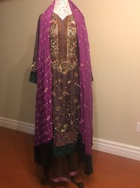 Pakistani long embroidered party suit  Mississauga, L5V 2Y8