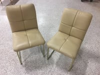 Pair of retro leather chairs  South Daytona, 32119