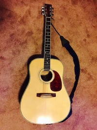 Woods Guitar! Needs tuned! Hardly ever used