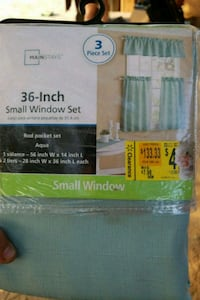 "36"" small window curtains Moreno Valley, 92553"