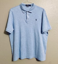 Polo Ralph Lauren light blue polo shirt  Edinburg, 78541