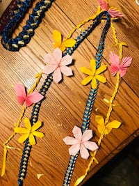 three assorted color beaded necklaces Merced, 95340