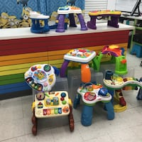 activity tables for infants Etobicoke