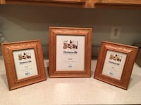 REDUCED: New High-Quality Maple Wood Photo - Picture Frames - Set of 3 by Thomasville  Lansdowne