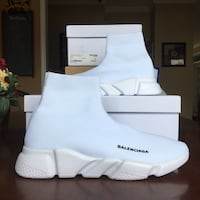 White Balenciaga Designer shoes Kitchener, N2N