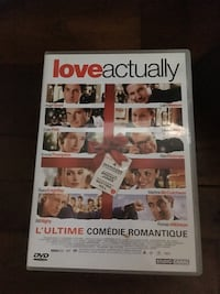 Love Actually DVD cases