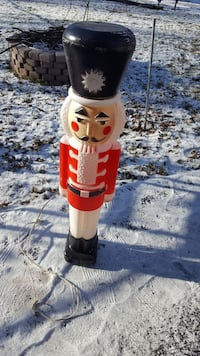 "Vintage 1988 30"" Nutcracker Blow Mold by Union"