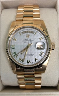 ROLEX President Day-Date w/ Pyramid Dial EXCELLENT CONDITION Costa Mesa, 92627