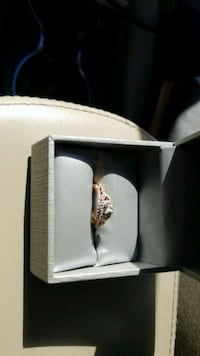 1/3 Ct Rose Gold Wedding Ring and Band Columbia