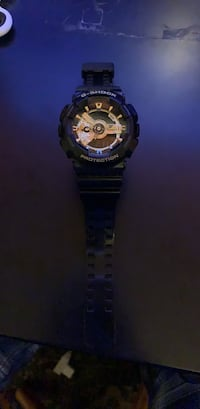 black and gold g-shock watch Baton Rouge, 70809